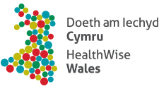 Health Wise Wales logo